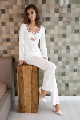 Пижамы женские шелковые LUNARETTA купить оптом со склада в Москве | Эксклюзивный дистрибьютор (Москва)