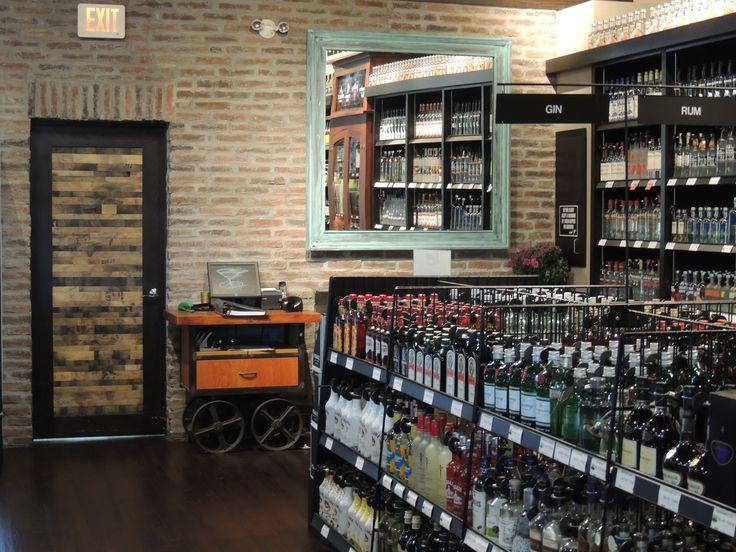 Clayton Liquor Store in Surrey BC Canada design build by Bay