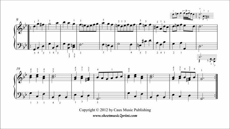 Handel : Menuet in G minor, HWV 453/4 - ABRSM Piano 2013 Grade 2 A5 www.sheetmusic2print.com/Handel/Suite-453-Menuet-II.aspx