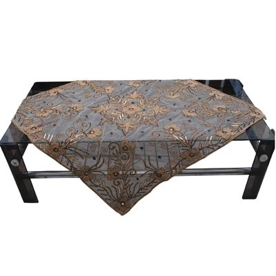 Buy Nonch Le Hand Made Beaded Square Table Cover by Nonch Le , on Paytm, Price: Rs.998?utm_medium=pintrest