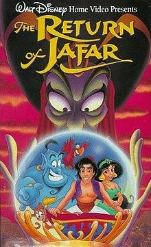 """A new adventure of Disney's Aladdin: A free Genie (Dan Castellaneta - it's a long story) hangs out with Al """"cuz you ain't had a friend like me!"""" Meanwhile, inept thief Abis Mal (""""George Costanza"""") rubs Jafar's lamp and frees the foe, now a genie himself. Still cleverly evil, Jafar tricks Abis Mal into wishing for Aladdin's doom."""