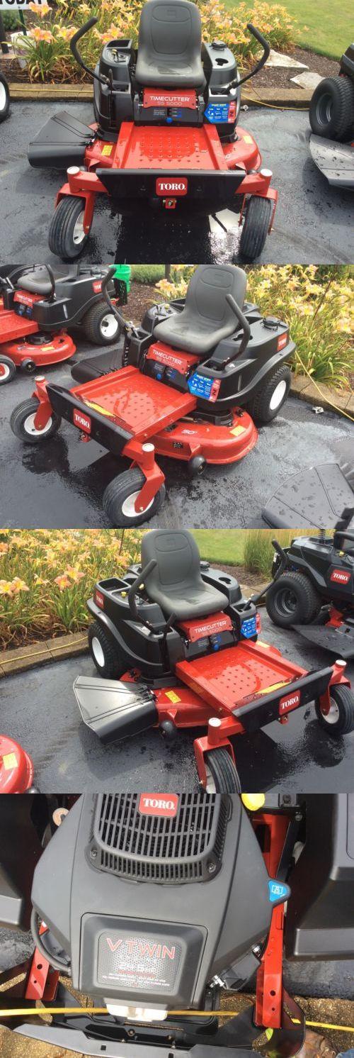 Riding Mowers 177021: 2017 Toro Timecutter 50 Zero Turn Mower **Demo Unit** -> BUY IT NOW ONLY: $2699 on eBay!