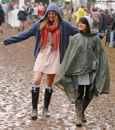 Happy Rainy Festival! A great place for your HappyRainyDays coat. You might want to invest in our special detergent to make your coat shine again afterwards.. :)