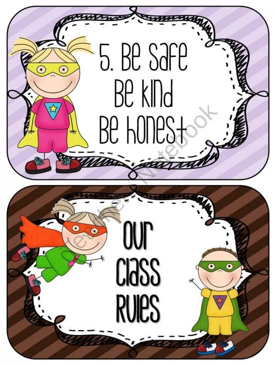 Editable Class Rules Super Hero Theme from Lesson Plans and Lattes on TeachersNotebook.com (8 pages)  - Editable classroom rules in a super hero theme!
