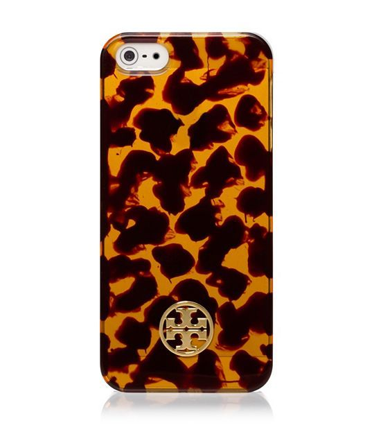 tortoiseshell iPhone case from tory burch