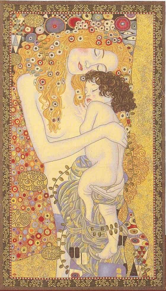 Gustav Klimt, Mother & Child