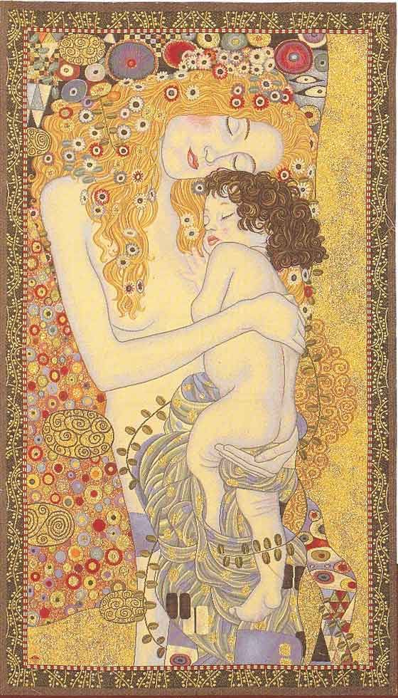 Gustav Klimt, Mother & Child