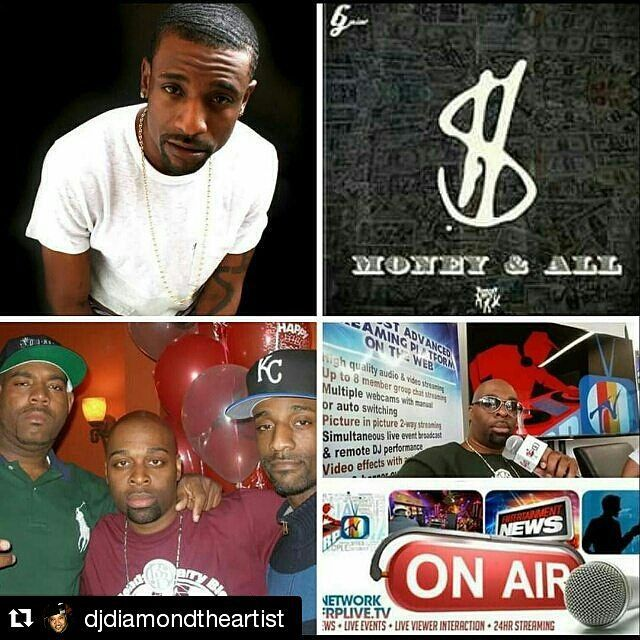 Repost @djdiamondtheartist  ATTN: Thus Happens 2nite on FRPTV.  Tune in with my boy .... Yup!  #TeamDiamond  #RP @djbarryblends  TKC Unit / Tommy Boy Records Artist G Mim$ will make his 1st guest appearance on FRP TV today at 7:30pm est for an exclusive interview on The Blendsday Wednesday Show starring Dj Barry Blends. Log on at www.frplive.tv and watch the broadcast. Join our chat room if you want to ask Mims any questions or come in through our picture and picture feature via Worldcast…