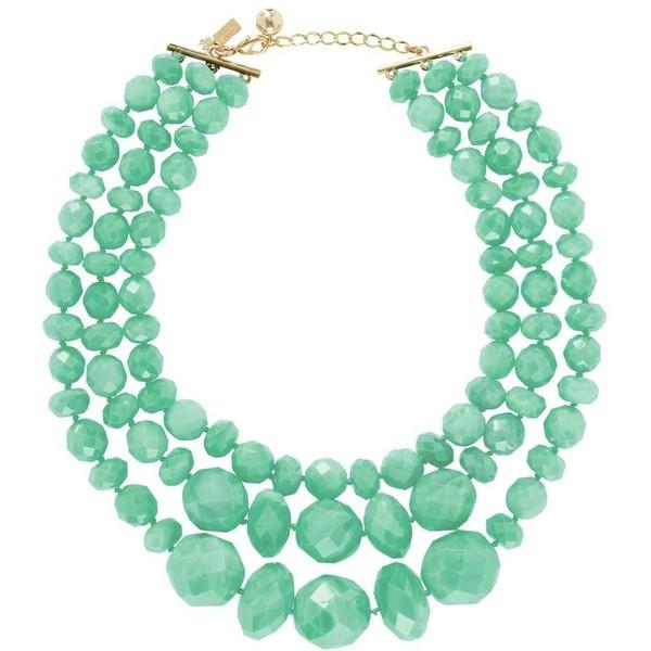 Give It A Swirl Statement Necklace ($148) found on Polyvore: Fashion, Statement Necklaces, Style, Jewelry, Swirls, Kate Spade, Katespade