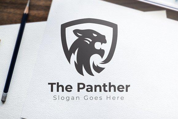 The Panther Logo Panther Logo Logo Templates Warrior Logo