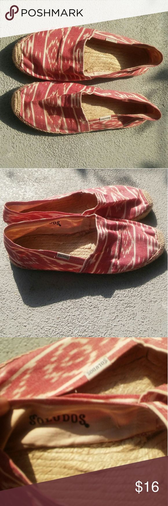 SOLUDOS Ladies Espadrilles Size 8 Nice ladies espadrilles Good pre-owned condition Size 8 Shoes Espadrilles