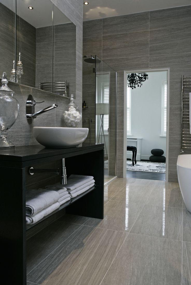 Bathroom Interior Design Homes Bathtub Shower Sink Tile Gay Masculine Decor Boscolo The