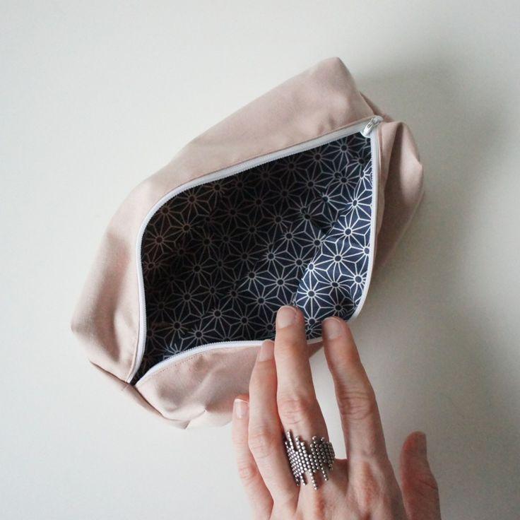 Make-up pung Sewing - Homemade - DIY