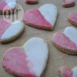 Biscotti di San valentino al limone e lampone @ allrecipes.it