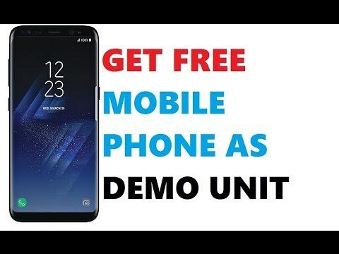 FREE MOBILE PHONE FROM COMPANIES AS TEST DEMO