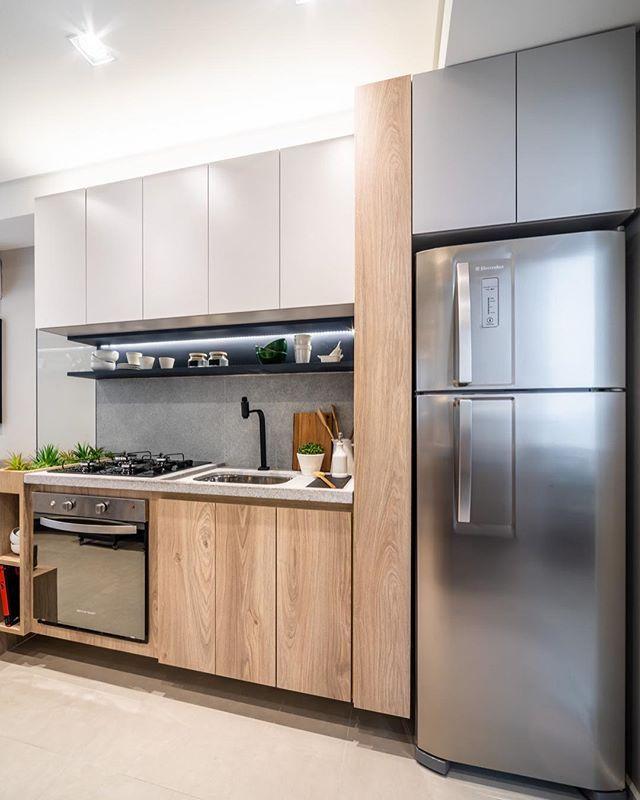 New Project Projeto Novo Cozinha Compacta Com Tampo Em