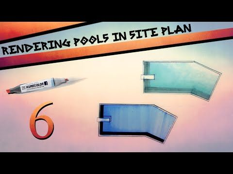 Rendering Pools in Site Plan - YouTube
