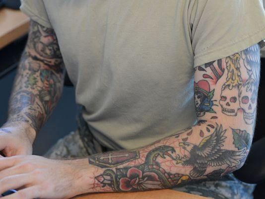 Army may ease tattoo policy
