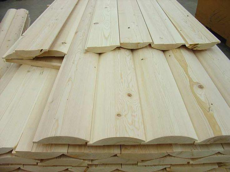 Half Log Interior Paneling Siding Pine Siding