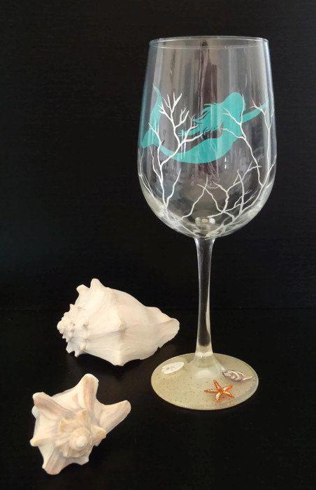 261 best wine glasses images on pinterest decorated for Best paint for painting wine glasses