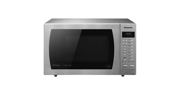 Panasonic NNCT585SBPQ Slimline Combination Microwave In Stainless Steel   The Panasonic NN-CT585SBPQ is a powerful Slimline Combination Microwave Oven that although smaller still provides the features and results of any family sized unit. #microwave #cooker #oven #kitchen