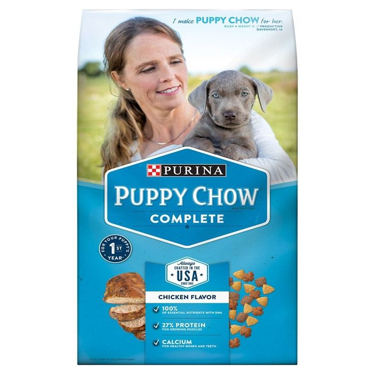 Purina Puppy Chow Complete Puppy Dry Dog Food 4.4lb Bag