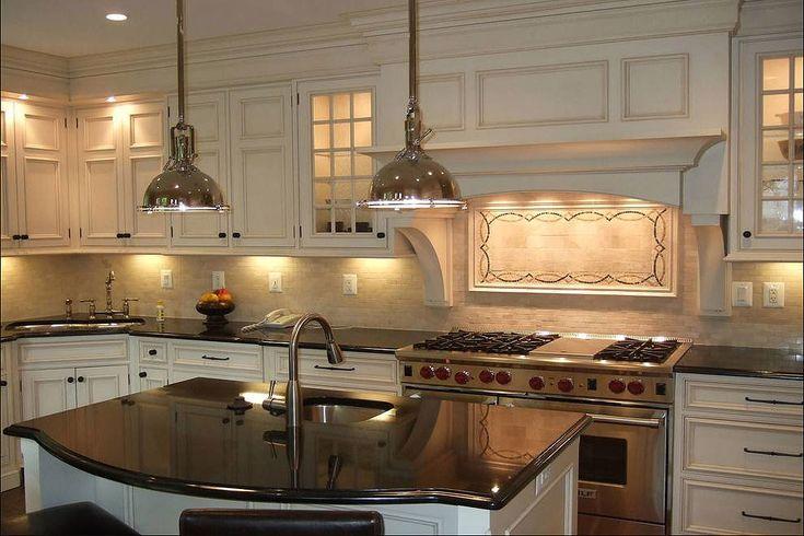 36 fabulous black granite countertops design ideas in 2020 kitchen backsplash designs on kitchen decor black countertop id=52478