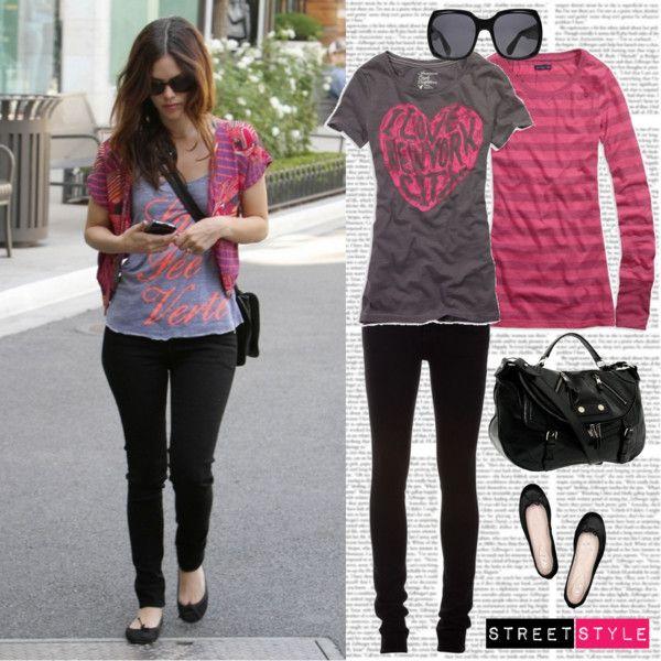 Rachel Bilson Street Style