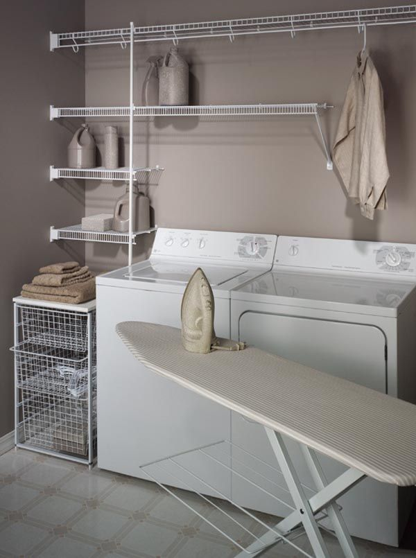 Laundry room organization ideas your tidy laundry room solution minimalist saving laundry - Small closet space solutions minimalist ...