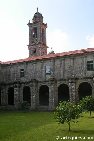 Monasterio de Armenteira.Pontevedra.