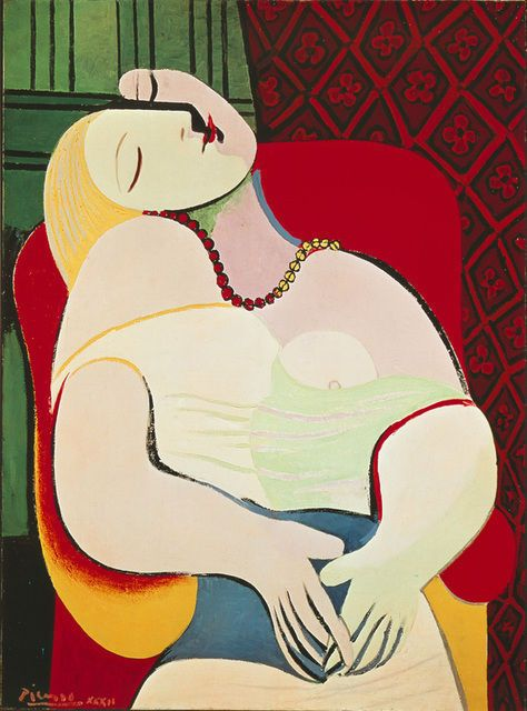 Pablo Picasso - La Rêve [The Dream] (1932)