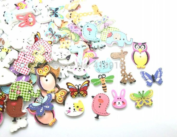 Cheap button push, Buy Quality button effect directly from China button love Suppliers: Free shipping -Free Shipping 100pcs Mixed 2 Holes pattern cartoons Wood Sewing Buttons Scrapbooking 15mm-39mm D2267&nb