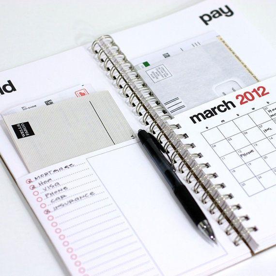 bills planner. | Organization | Pinterest