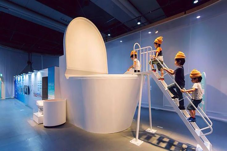 Tokyo kids wear turd hats and jump into giant loo to learn how toilets work - Lost At E Minor: For creative people is this TMI, I mean really, don't they have a slightly unhealthy fixation on poop