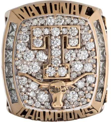 2005 University of Texas Longhorns NCAA Baseball Championship Ring