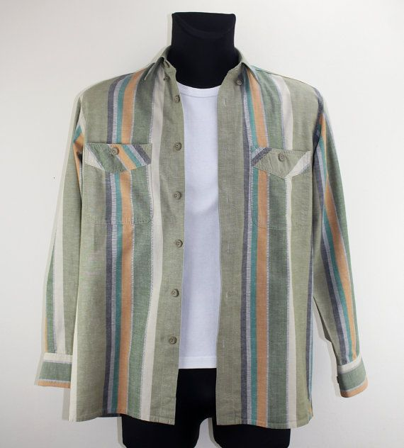 Vintage Shirt Second Hand Fashion Shirt by DesignerSecondHand