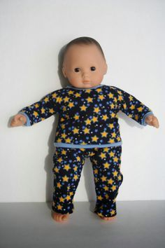 free tutorial and pattern on how to make a shirt for Bitty Baby + Twin Doll