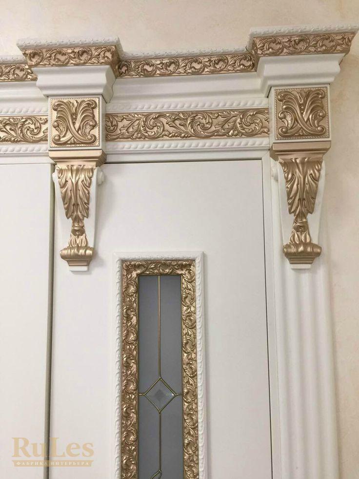 "Декоры ""Монте-Роза"" #межкомнатные #двери #рулес #интерьер"