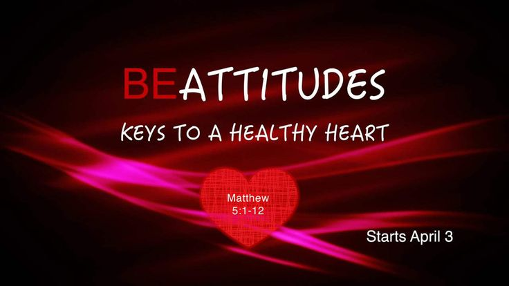 The Beatitudes in Matthew 5:1-12 list qualities which describe characteristics of the true people of God.