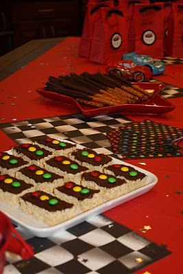 Disney Cars Birthday Party Theme