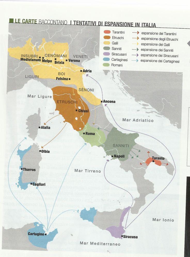 L'Italia nel VI secolo a.C.