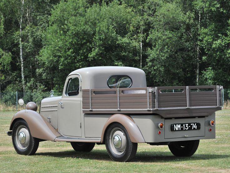 1952 mercedes benz 170 da pick up mbhess mbclassic mb. Black Bedroom Furniture Sets. Home Design Ideas