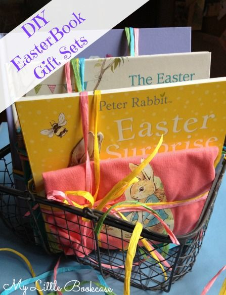 119 best easter images on pinterest easter ideas easter crafts diy easter book gifts sets by my little bookcase negle Image collections