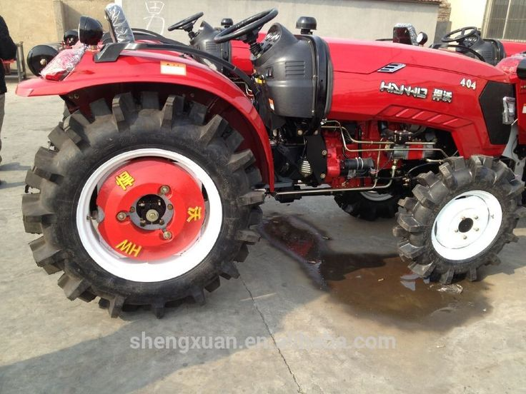 Asian small 4WD 40hp tractors for sale