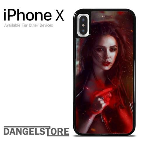 newest 8e78f 62859 The Avengers Scarlet Witch - Z For iPhone X | IPhone X Case | Iphone ...