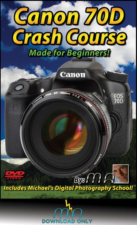 Michael is a great teacher! I may purchase this one!! Canon 70D Crash Course Download