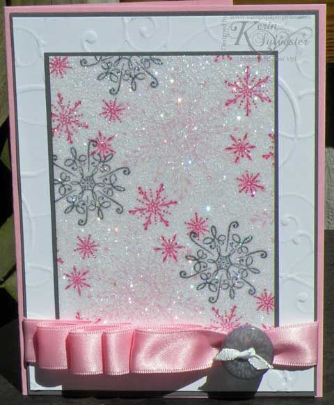 Stamping 411: Technique Thursday ~ Diamond Dust Technique SOOOO CUTE!