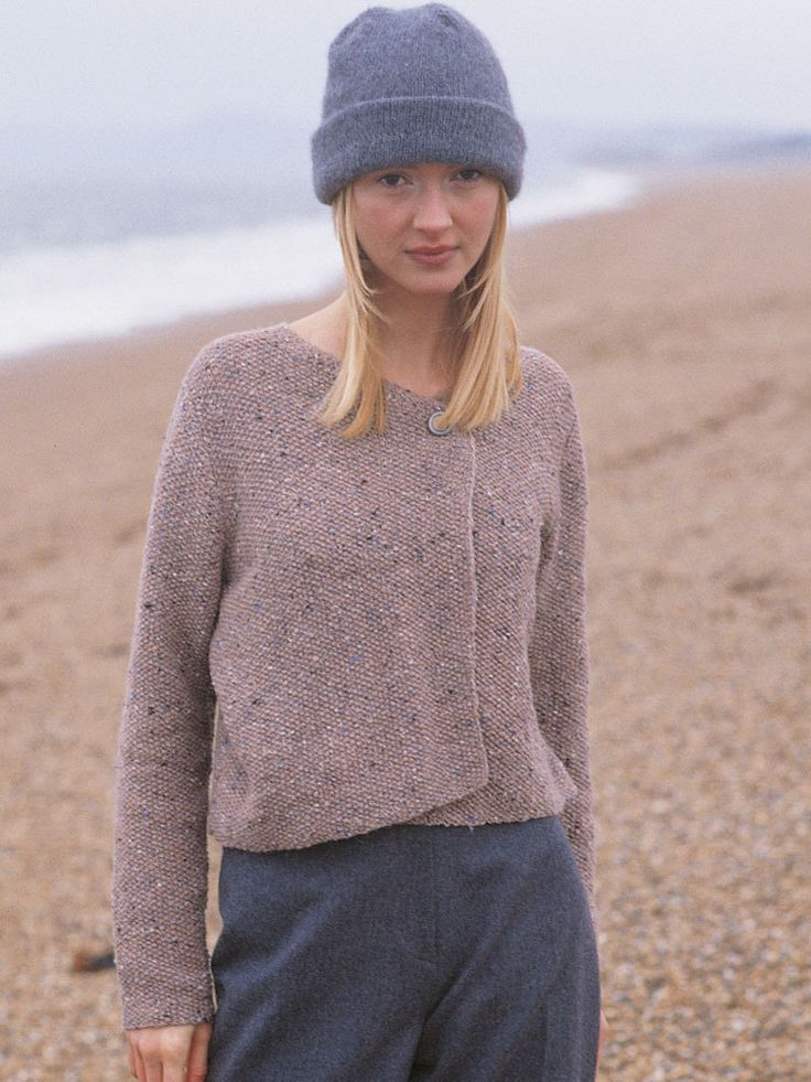Mist Cardigan in Rowan Felted Tweed. Find more knitting inspiration and share your own projects at LoveKnitting.Com!