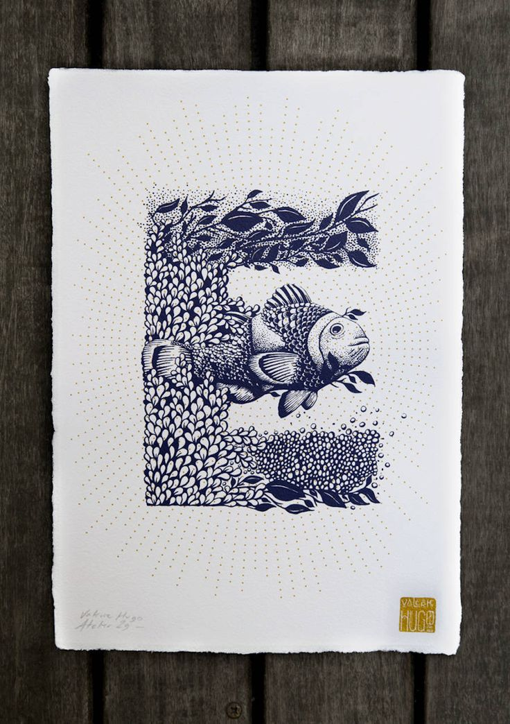 The Illustrated Alphabet by Valérie Hugo – Fubiz Media