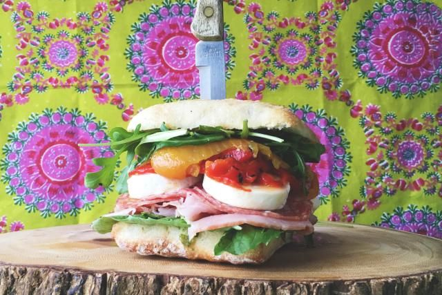 15 Italian Sandwich Recipes That Will Make You Scream Mama Mia!: Italian Ciabatta Sandwich Recipe